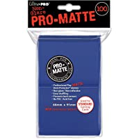 Ultra Pro Ultra ProACCPRO044-Blue Abysse 100-Count PC Pro-Matte Deck Protectors (6.6 x 9.1 cm)