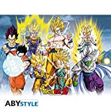 ABYstyle Abysse Corp_ABYDCO337 Dragon Ball - Póster DBZ/All Stars...