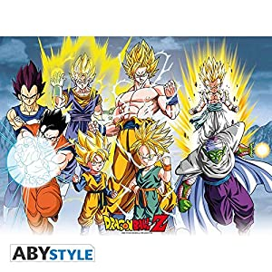 ABYstyle Abysse Corp_ABYDCO337 Dragon Ball - Póster DBZ/All Stars (52X38)