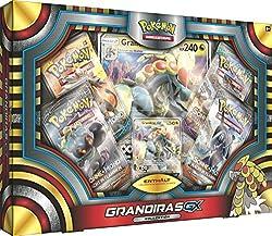 Die Grandiras-GX Kollektion des Pokémon Sammelkartenspiels bietet direkten Zugriff auf eine neue Promokarte in der kampfstarken GX-Ausgabe, dem aktuellen Nachfolger der Pokémon-EX aus dem XY-Zyklus! Pokémon-GX haben ähnlich hohe KP-Werte und stark...