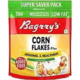 Bagrrys Corn Flakes Plus – Original and Healthier1Kg Pouch