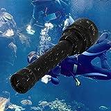 Best Dive Lights - Cree XM-L2 5000 Lumen LED Diving Flashlight, KC Review