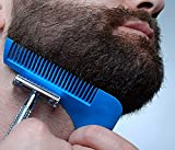 #7: ShopAIS Beard Shaper Styling & Shaping Comb To Style Your Beard (ASSORTED COLOR)