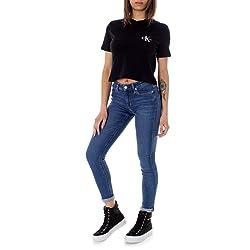 Calvin Klein Jeans Vaqueros Mujer Azul