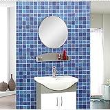 Wall Sticker wasserdicht Mosaik Wandaufkleber Küche Badezimmer shop Dekoration Fliesen nach der Renovierung Wallpaper