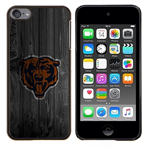 - Chicago Bear Football/ Fest Snap On Handy Tasche - Cao - For Apple iPod Touch 6 6th Generation