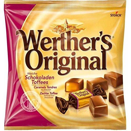 Werther's original caramel tendre chocolat sachet 180g - ( Prix Unitaire ) - Envoi Rapide Et Soignée