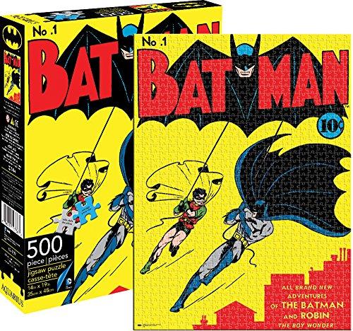 Batman Yellow 500 rompecabezas pieza del puzzle 480mm x 350mm (nm)
