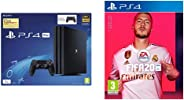 Sony PS4 Pro 1TB Console with one Additional Controller Pasted Outside Box & FIFA 20 (PS4)