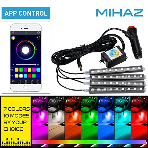 mihaz-4-piece-12cm-36-led-8-colors-car-footwell-light-strip-for-interior-light-car-atmosphere-light-