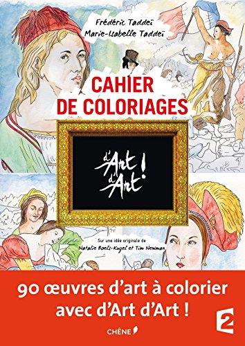 Cahier de coloriages d'Art d'Art