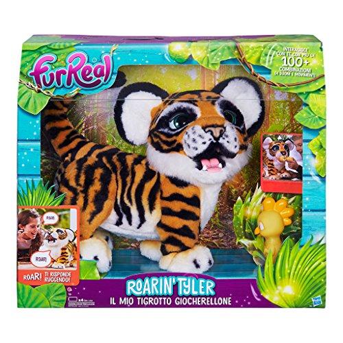 FurReal Friends���Plush TYLER, My Tiger (Hasbro b9071103) (Italian Version)