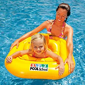 Intex Baby Float Seat Age 1 2 Years Ideal For Swimming Pool Toys Games