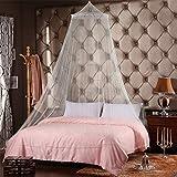 caxmtu mosquitera repelente de insectos protección para cama color Blanco