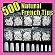 Non Brand 500 White False French Nail Art Tips Uv Acrylic 064