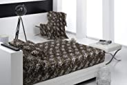Mora Blanket Brown Size (240 x 260) - [956-09-541]