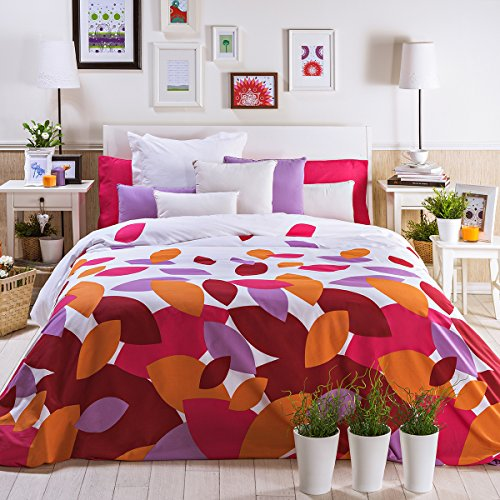San Carlos Spring - Juego funda nórdica, para cama de 135, color rosa