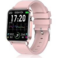 Judneer Smartwatch, 1.4 Zoll Voll Touch-Farbdisplay Armbanduhr mit Pulsuhr Fitness Tracker, IP68 Wasserdicht Smart Watch…