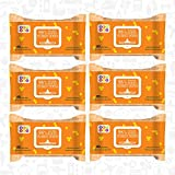 #8: Bey Bee Paraben Free Wet Tissues Enriched With Vitamin E Extract Alcohol Free (7 Packs 560 Baby Water Wipes)