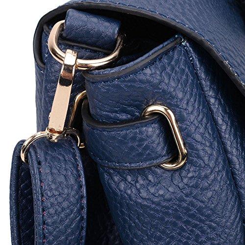 Premium Leather, Borsa tote donna Blue