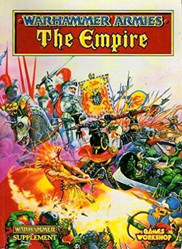 Warhammer Armies The Empire paperback book Games workshop