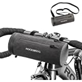 ROCKBROS Bike Handlebar Bag Bicycle Frame Bag Cycling Bag for Storage Bike with Strap Waterproof Large Capacity Front Pack Pouch for Route Bike Scooter Folding Bike Electiric Bike