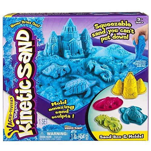 Imagen principal de Wacky-actividades Kinetic Sand Box Set - AZUL (Se distribuye desde el Reino Unido)