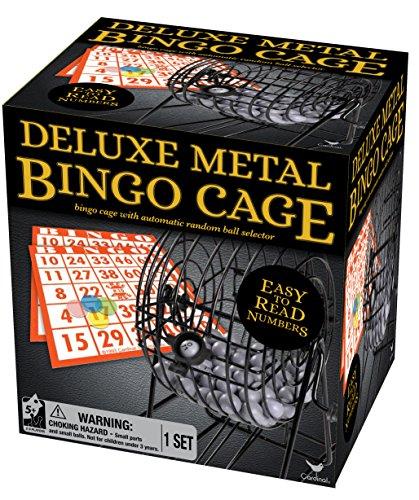 Deluxe Bingo-Spiel (Set Bingo-käfig)