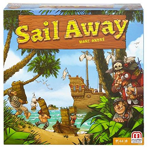 Mattel Spiele DNM66 - Sail Away, Strategiespiel