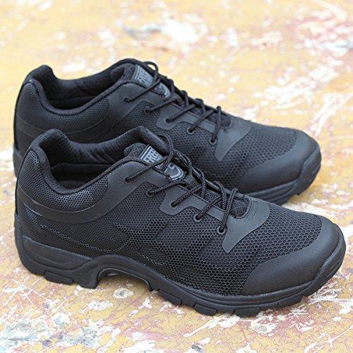 Free Soldier Scarpe per arrampicata e passeggiate in montagna, per l'estate, antiscivolo, traspiranti Nero