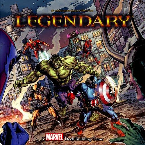 ADC Blackfire Entertainment UD80366 - Legendary: A Marvel Deck Building Game - Englisch, Kartenspiel (Vs-system-box)