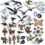 Comment entraîner Son Dragon 3D Cartoon pour les chambres garçons et filles sticker mural Taille: Grand 76 cm X 72 cm