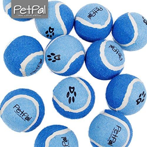 Hundeball von PetPäl | Pefekter Tennisball für Deinen Hund | Hundespielzeug Ball für Hunde | Ideale Tennisbälle für Ballschleuder | Tolle Bälle für den besondern Spielspaß