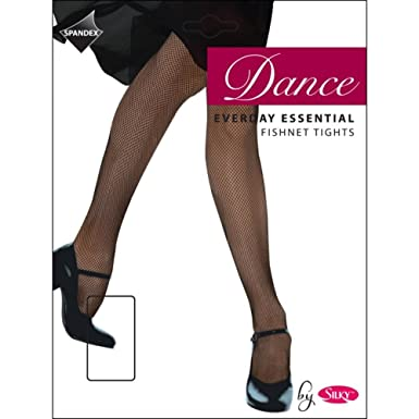 6dc0a075289bb SILKY EVERYDAY ESSENTIAL FISHNET DANCE TIGHTS Adult One Size Black or  Natural (Black): Amazon.co.uk: Clothing
