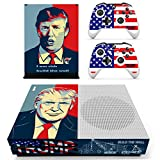 #3: Hytech Plus Donald Trump POTUS Edition Theme Sticker for Xbox One S Console & 2 Controllers