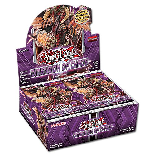 YU-GI-OH! Dimension of Chaos Booster Display (24 Booster) 1. Auflage Deutsch