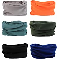 Seamless Multifunctional Headwear Bandana Scarf - Elastic Tube Magic Headband Gaiter Balaclava Face Mask UV Residence for Yoga Running Hiking Cycling