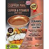 Starlyf® Copper Pan, 3-tlg. Kupfer-Keramik Pfannen-Set mit Antihaftbeschichtung - Original aus TV-Werbung