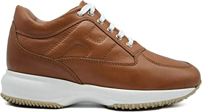 Hogan Sneaker Donna Interactive Pelle Marrone HXW00N00010O6LS003