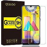 QULLOO Vetro Temperato per Samsung Galaxy M21 / M31 / M30s, [2 Pezzi] Pellicola Protettiva Alta Definizione Anti Graffio Prot