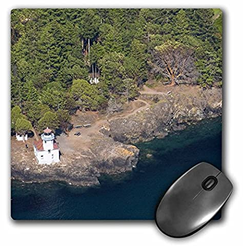 Danita Delimont - Lighthouses - WA, San Juan Island. Lime Kiln Point lighthouse - US48 TDR0801 - Trish Drury - MousePad (mp_96953_1)