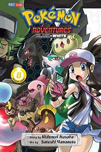 Pokemon Adventures Black & White 8 by Hidenori Kusaka (2015-08-13)