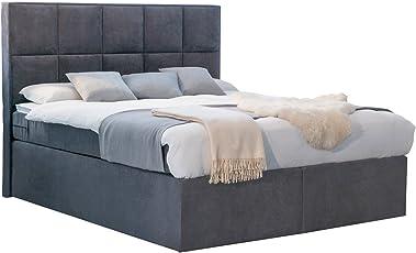 Betten Jumbo Dream Amerikanisches Boxspringbett Mit Luxus 7 Zonen  Taschenfederkernmatratze Und Kaltschaumtopper H2 Bis H3