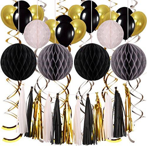 POAO Party Dekoration, Geburtstagsdeko Dekoration Geburtstag Junge für Party,Geburtstag,Hochzeit,Hauptdekorationen