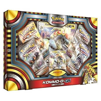 Pokèmon Caja colección Komm-o GX (POGX1705) por The Pokémon Company International