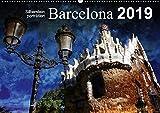 Barcelona (Wandkalender 2019 DIN A2 quer): Künstlerisch verfremdete Ansichten der Stadt Barcelona (Monatskalender, 14 Seiten )