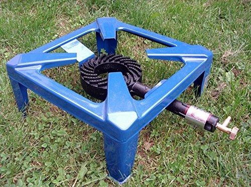 Preisvergleich Produktbild Generic YC-DE2-160721-6 er blaur Campingko Campingkocher Gas 4 Fu Bein Kocher blau Hockerkocher Gaskocher 4 Fu Bein 4 Fu Bein