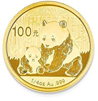 24k 100 YUAN Panda Coin