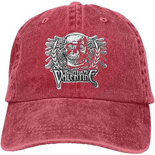 Mütze Hut Bullet for My Valentine Metal Band Adjustable Tennis Cotton Hip Hop Hats Washed Denim Caps Black