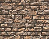 Pop Up Panel 52x250cm selbstklebend 3D-Effekt 95574-1 Mauer Stein beige